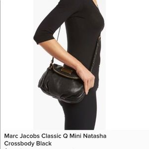Marc Jacobs Classic Q Mini Natasha Crossbody Black